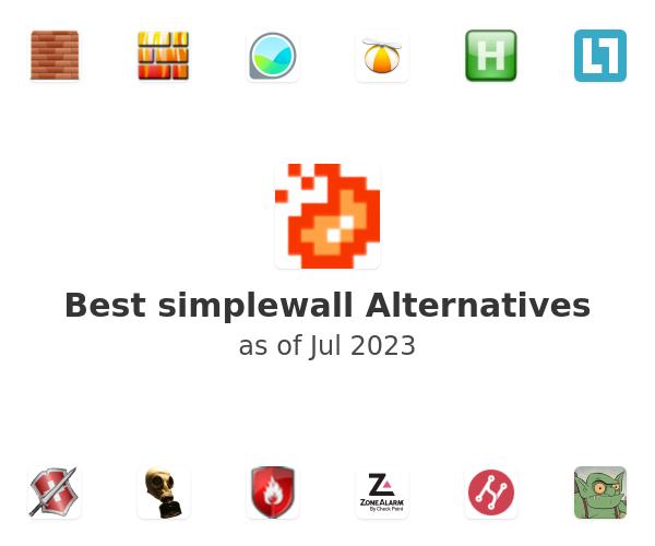 Best simplewall Alternatives