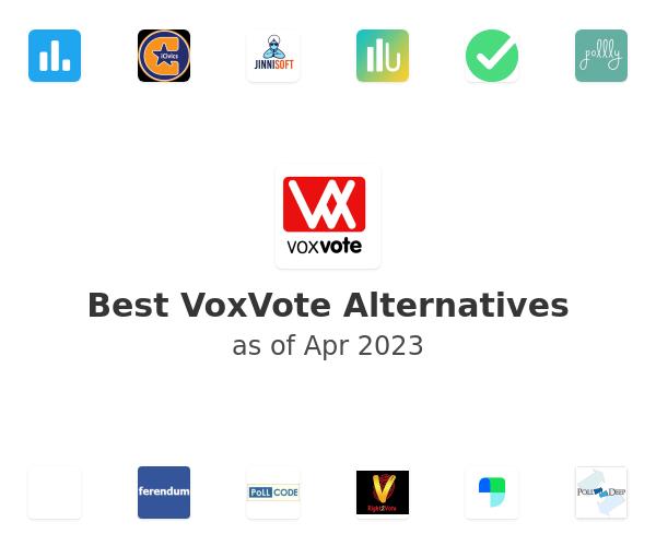 Best VoxVote Alternatives