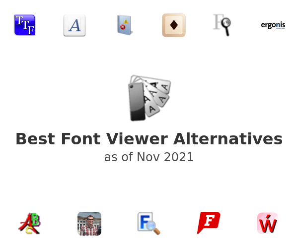 Best Font Viewer Alternatives