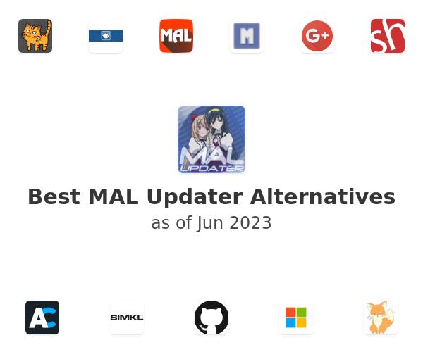 Best MAL Updater Alternatives