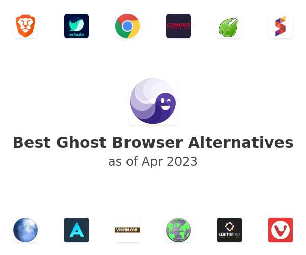 Best Ghost Browser Alternatives