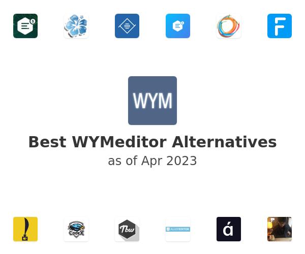 Best WYMeditor Alternatives