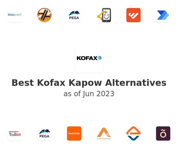 Best Kofax Kapow Alternatives