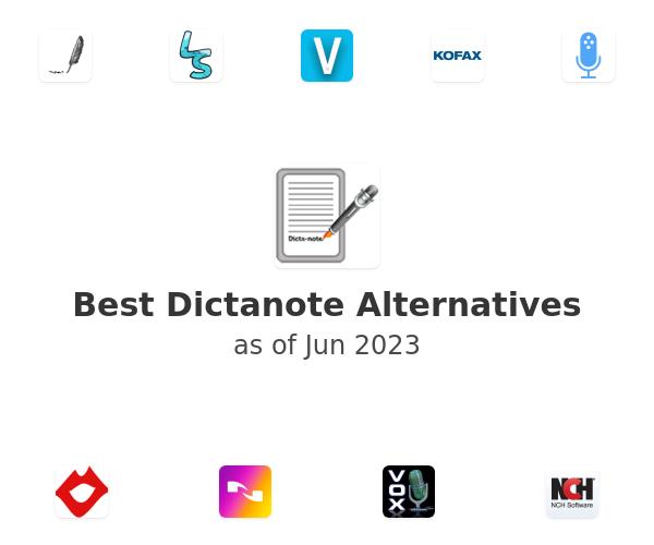 Best Dictanote Alternatives
