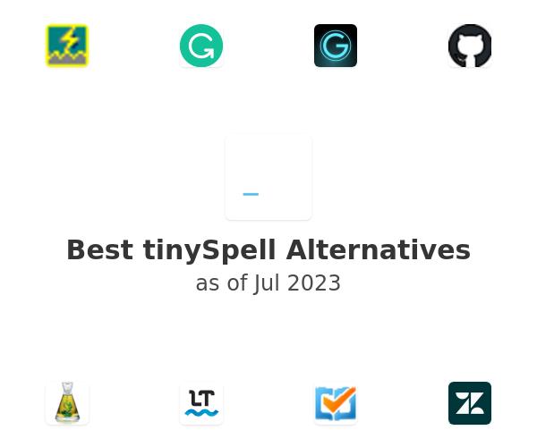 Best tinySpell Alternatives