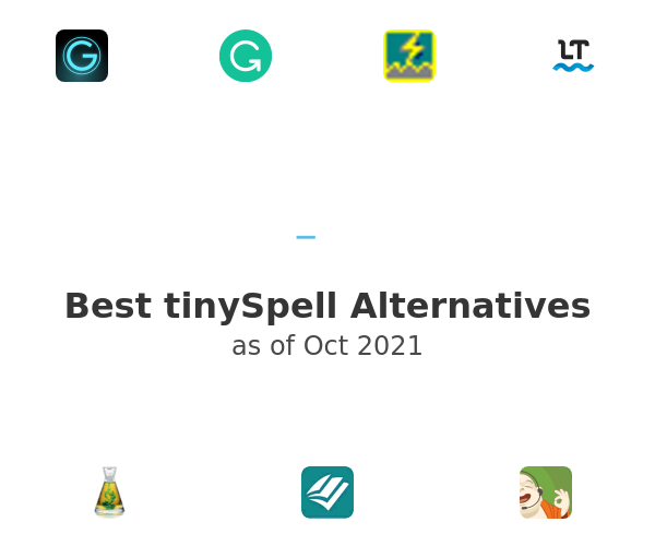 Best tinySpell Alternatives