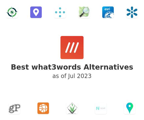Best what3words Alternatives
