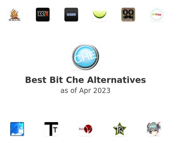 Best Bit Che Alternatives
