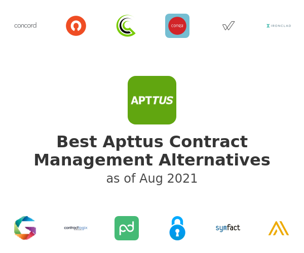 Best Apttus Contract Management Alternatives