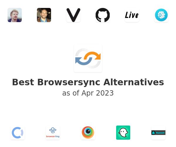 Best Browsersync Alternatives