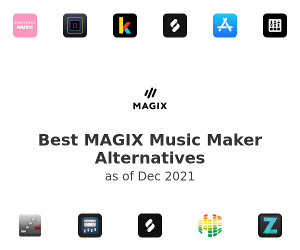 Best MAGIX Music Maker Alternatives