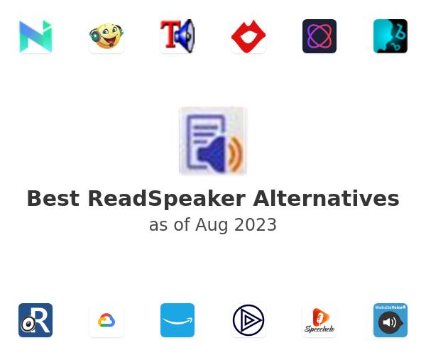 Best ReadSpeaker Alternatives
