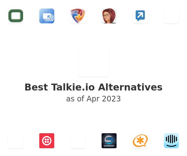 Best Talkie.io Alternatives