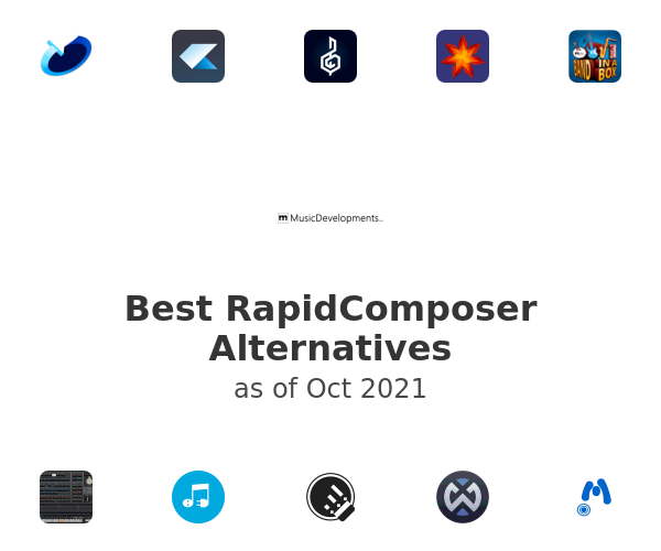 Best RapidComposer Alternatives