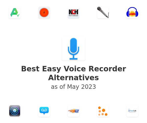 Best Easy Voice Recorder Alternatives