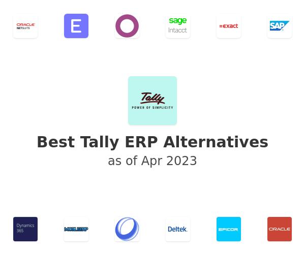 Best Tally ERP Alternatives