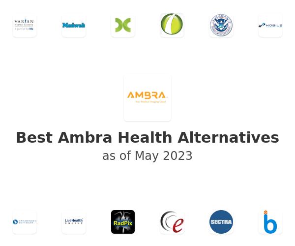 Best Ambra Health Alternatives