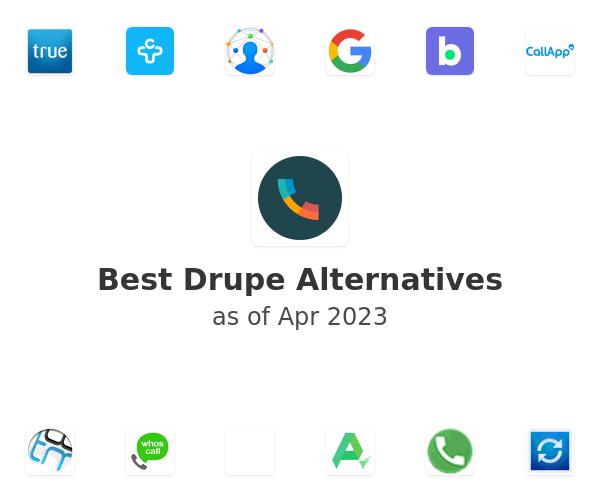 Best Drupe Alternatives