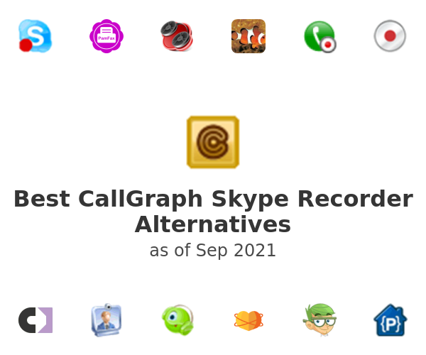 Best CallGraph Skype Recorder Alternatives