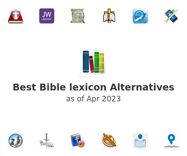 Best Bible lexicon Alternatives