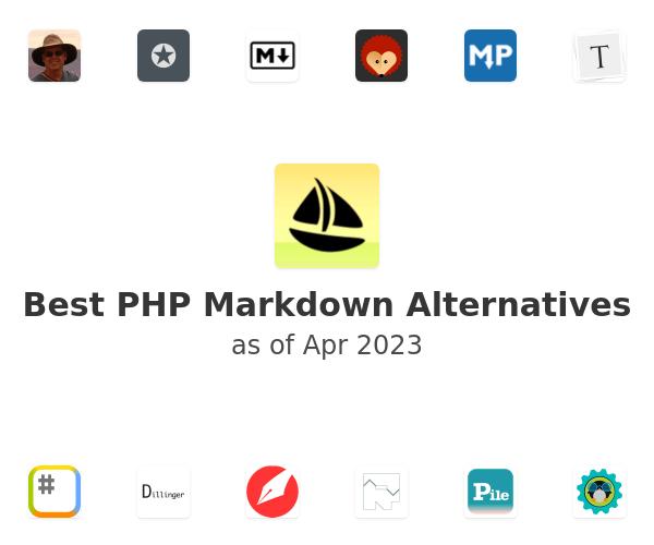 Best PHP Markdown Alternatives