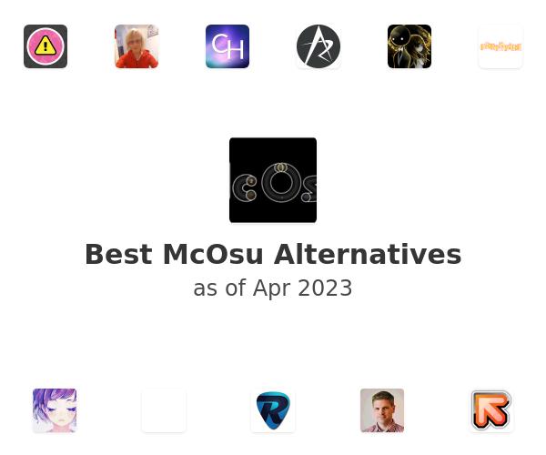 Best McOsu Alternatives