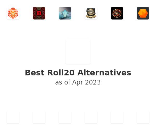 Best Roll20 Alternatives