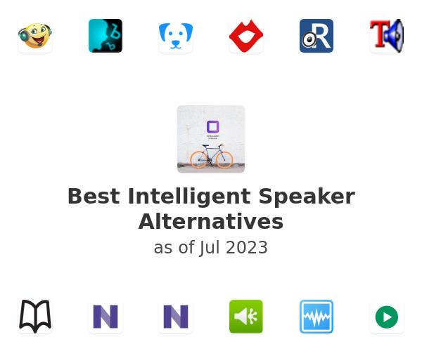 Best Intelligent Speaker Alternatives