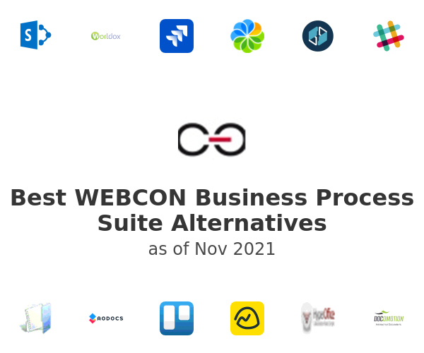 Best WEBCON Business Process Suite Alternatives