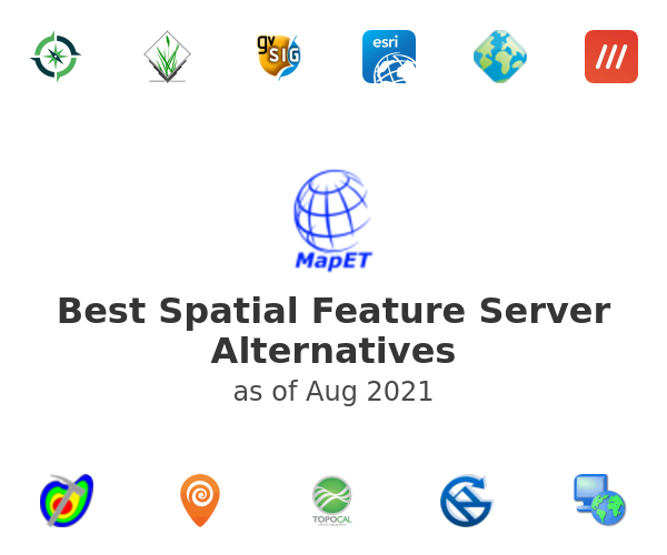 Best Spatial Feature Server Alternatives