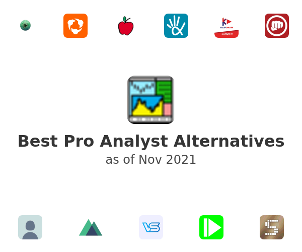 Best Pro Analyst Alternatives