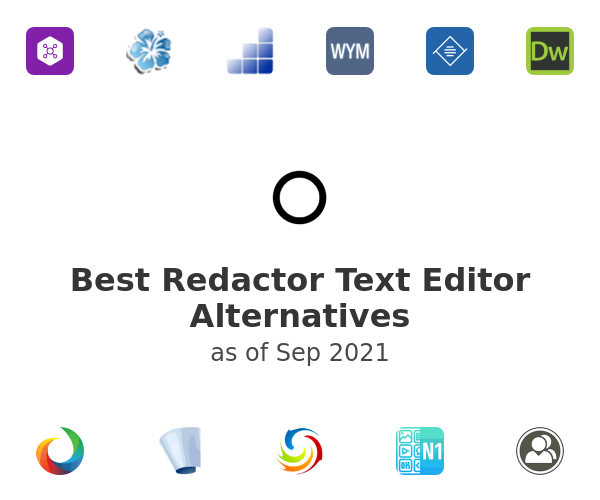 Best Redactor Text Editor Alternatives
