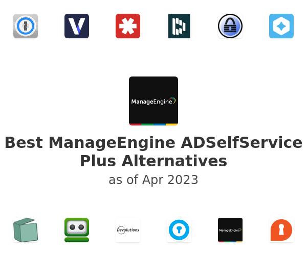 Best ManageEngine ADSelfService Plus Alternatives