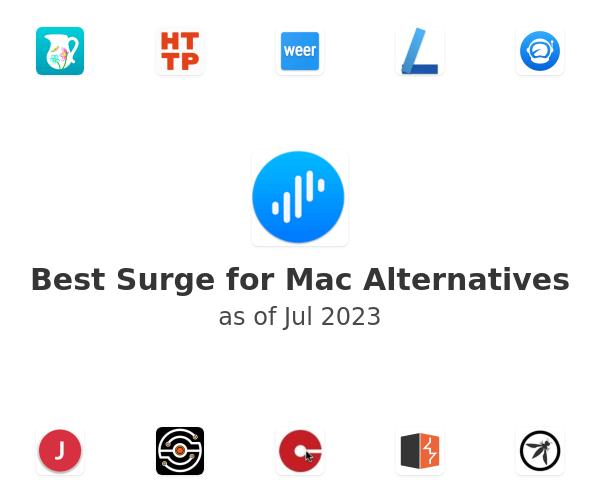 Best Surge for Mac Alternatives
