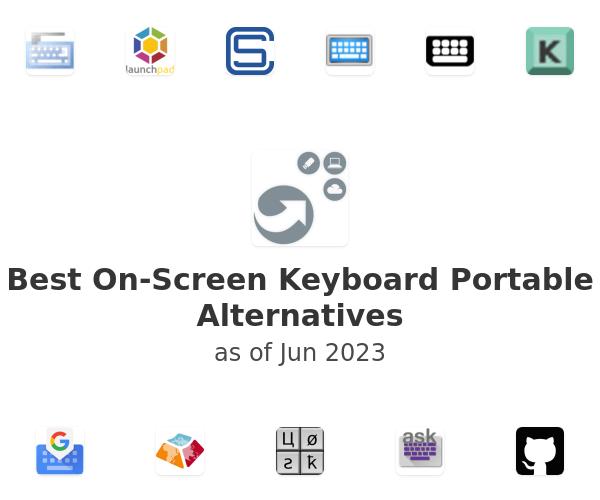 Best On-Screen Keyboard Portable Alternatives