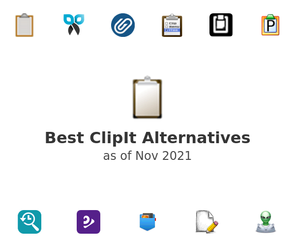 Best ClipIt Alternatives