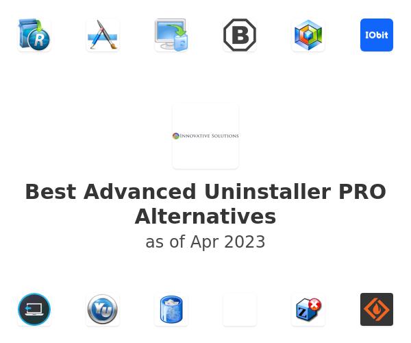 Best Advanced Uninstaller PRO Alternatives