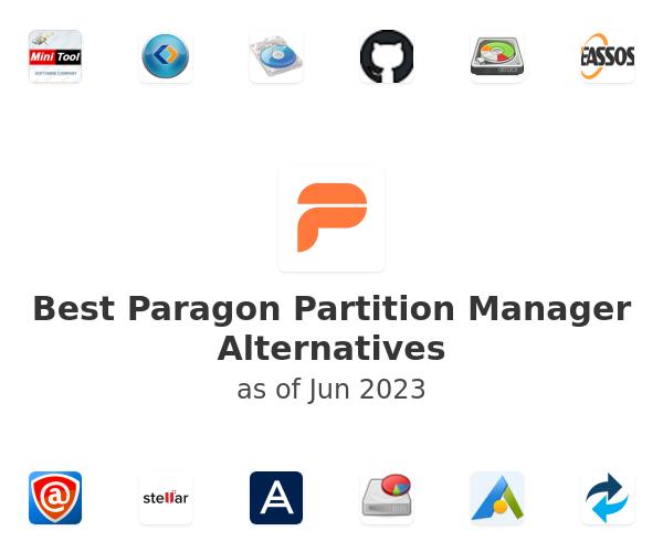 Best Paragon Partition Manager Alternatives