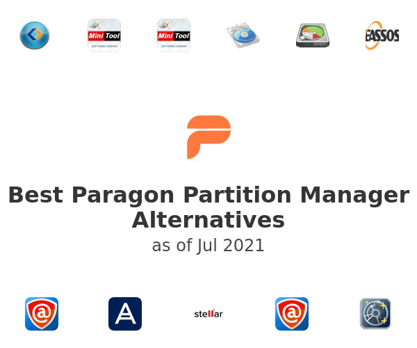 Best Paragon Partition Manager Alternatives