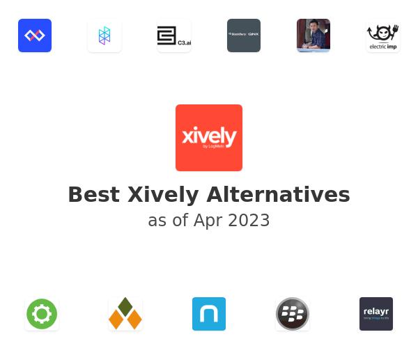 Best Xively Alternatives
