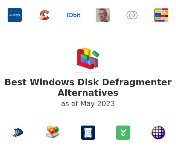 Best Windows Disk Defragmenter Alternatives