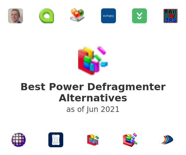 Best Power Defragmenter Alternatives