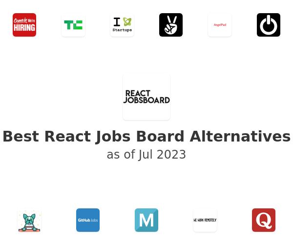 Best React Jobs Board Alternatives