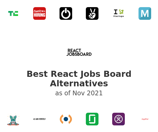 Best React Jobs Board Alternatives