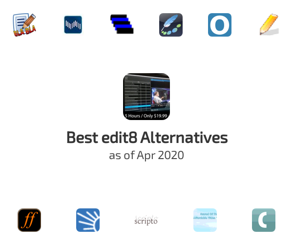 Best edit8 Alternatives