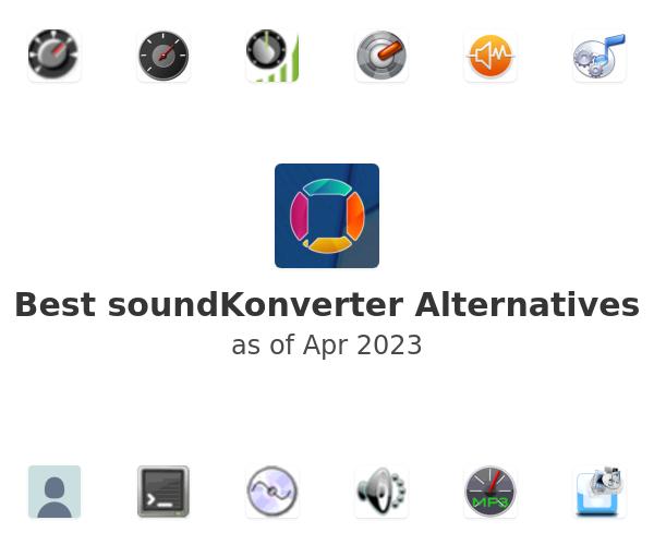 Best soundKonverter Alternatives