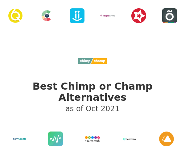Best Chimp or Champ Alternatives