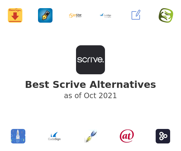 Best Scrive Alternatives