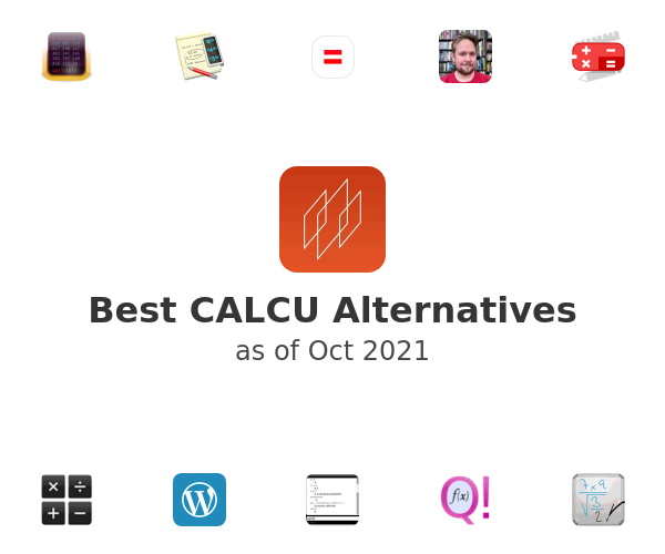 Best CALCU Alternatives