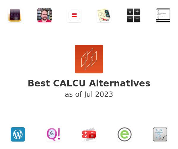 Best CALCU Alternatives
